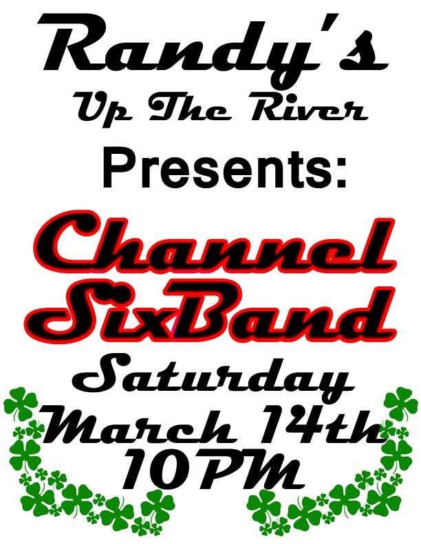LIVE at Randy's up the River, Allegany, NY March 14th 2015